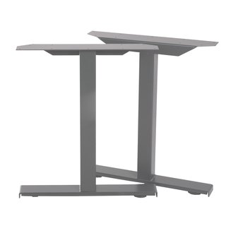 Structure de table, pieds de table gris